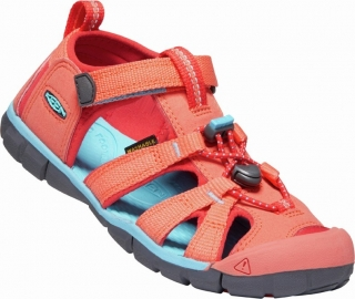 KEEN SEACAMP II CNX - CORAL/POPPY RED